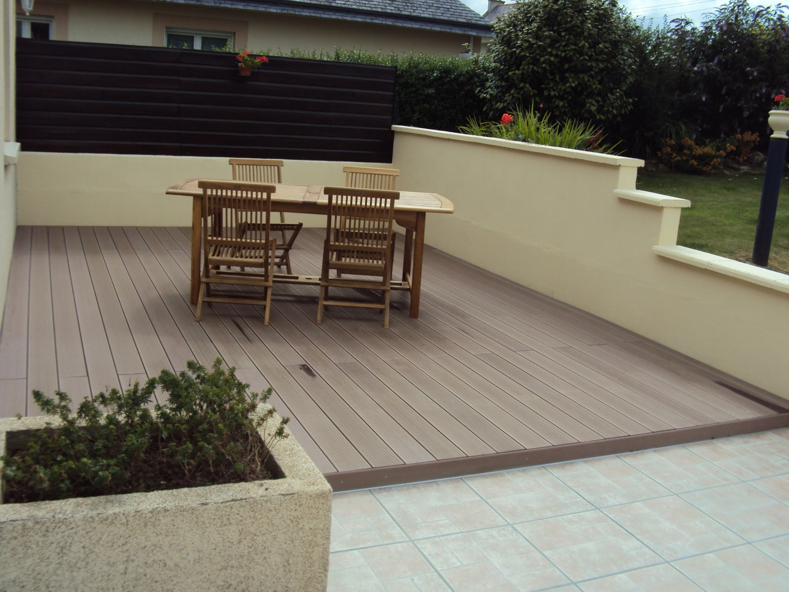 Lames de rev tement terrasse composite - Revetement terrasse composite ...
