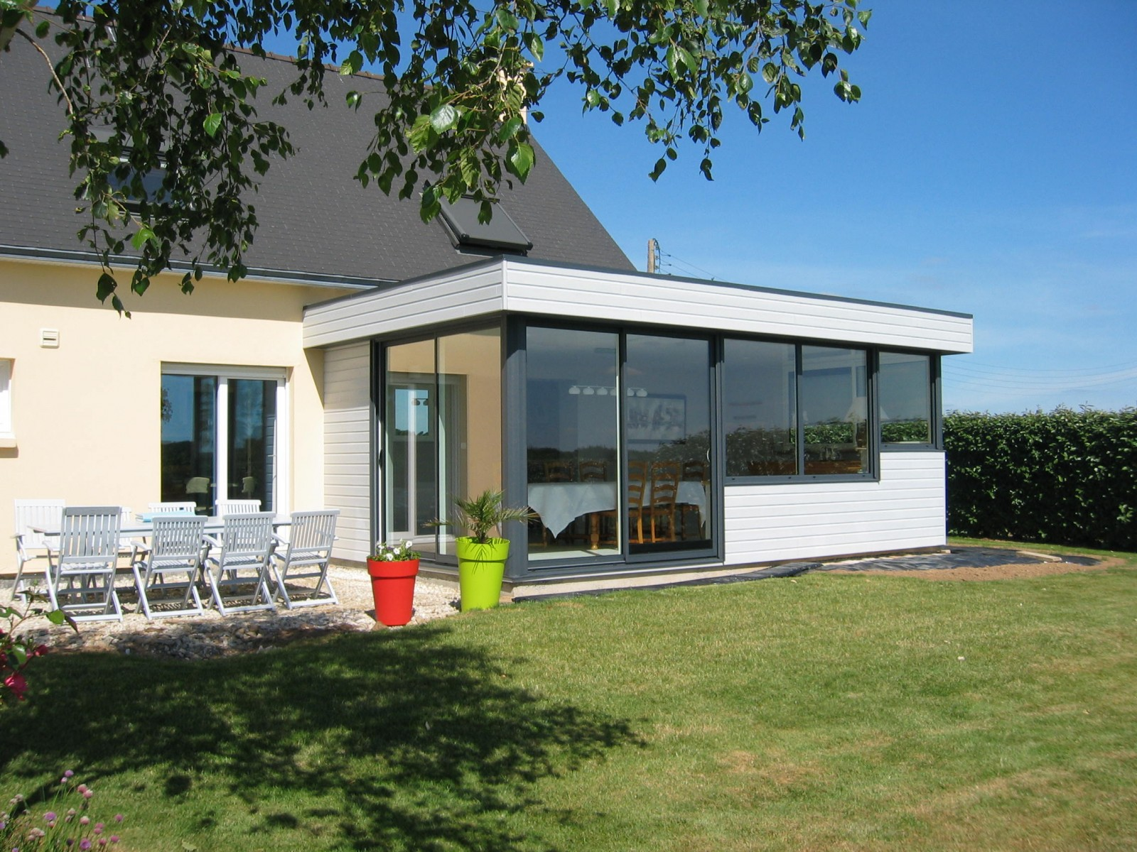 Extension toit plat - Extension maison brest ...