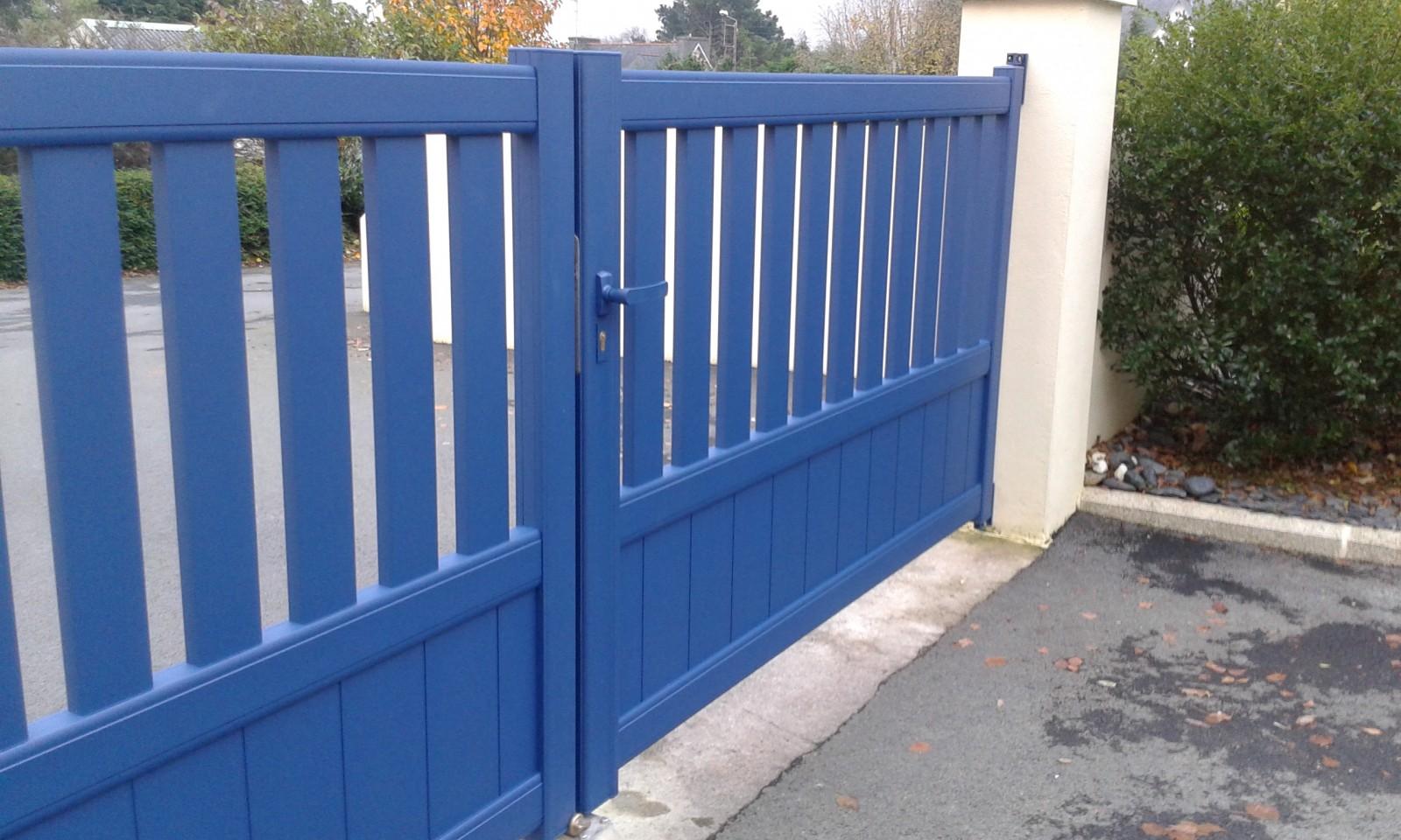 Portail Alu 2pl Une Gamme De Produits 100 Breton