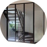 verri re atelier et cloison vitr e. Black Bedroom Furniture Sets. Home Design Ideas