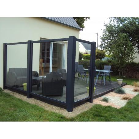 brise vent pvc. Black Bedroom Furniture Sets. Home Design Ideas