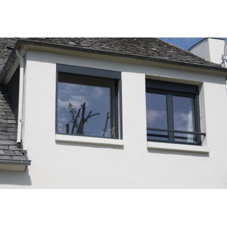 Fen tre alu for Fenetre pvc gris anthracite