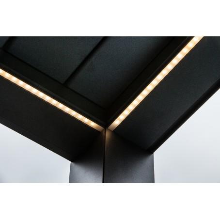 éclairage pergola avec strip LED