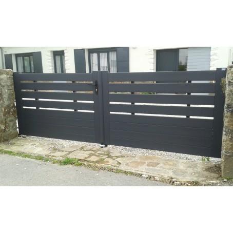 comment nettoyer un portail en pvc blanc gallery of une. Black Bedroom Furniture Sets. Home Design Ideas