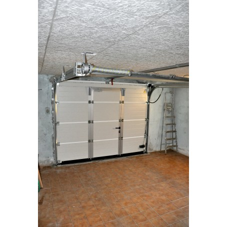 Porte de garage sectionnelle plafond - Montage d une porte de garage sectionnelle ...