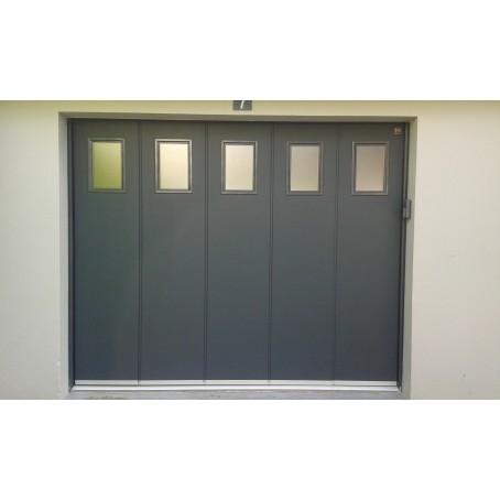 Porte De Garage Coulissante Lat Rale Isol E I Manuelle Ou