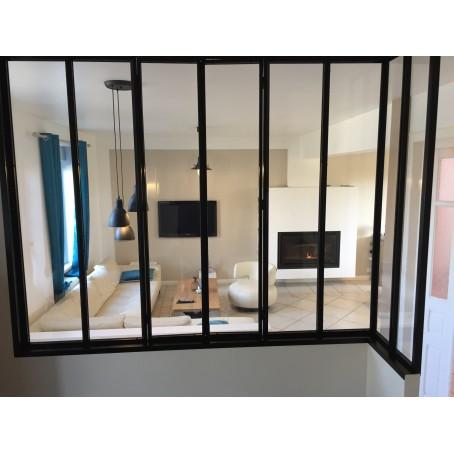 vitre pour verriere great vitre pour cloison interieure verrire intrieur sur mesure prte a. Black Bedroom Furniture Sets. Home Design Ideas