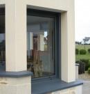 fenêtre 1 vantail - gris anthracite
