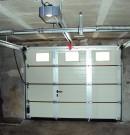 motorisation porte de garage sectionnelle plafond