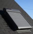 volet roulant solaire pour fenêtre de toit